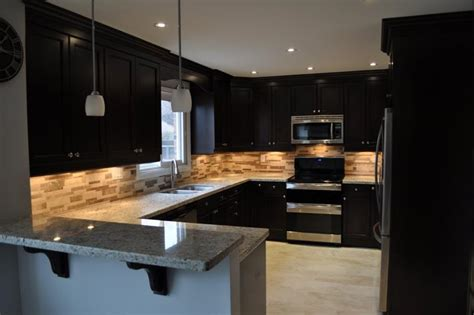 black cabinet kitchen designs 25 of the kitchen noir designs page 5 of 5 4653
