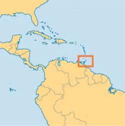 Trinidad and Tobago On World Map