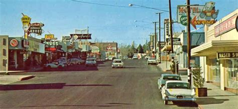 Historic Route 66 Pictures From California 7th St 1950 S Victorville Ca Victorville California