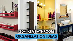 20 Brilliant IKEA Bathroom Organization Ideas YouTube
