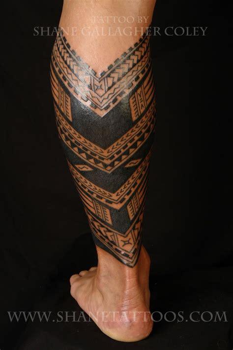 samoan tattoo designs samoan calf tattoo tattoos