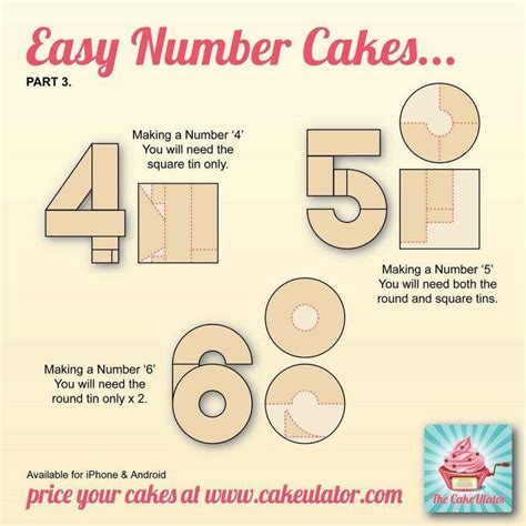 Number 4 Cake Template by Best 25 Birthday Cakes Ideas On