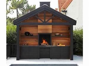 cuisine d39exterieur 20 modeles pratiques et esthetiques With modele de barbecue exterieur