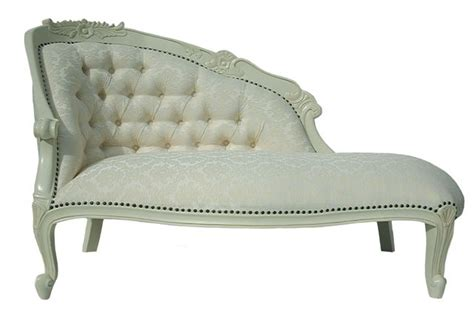 Copridivano Con Chaise Longue Shabby Chic : Mahogany Shabby Chic Antique White French Boudoir Loveseat