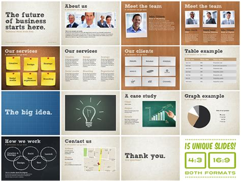 Free Pitch Deck Template by Universal Pitch Deck Five Powerpoint Template On Behance