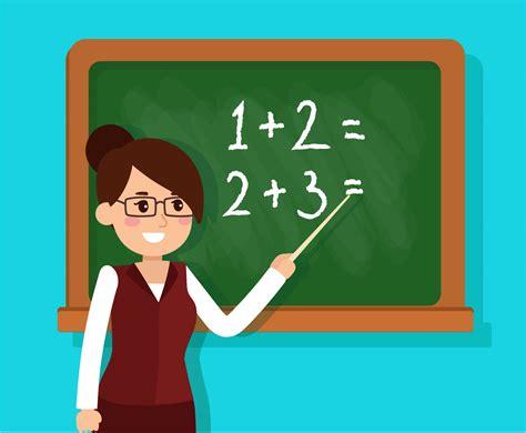 teacher teaching math in a classroom download free