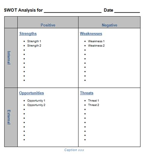 Ms Excel Chart Templates Editable Swot Template Microsoft Word Calendar Template 2016