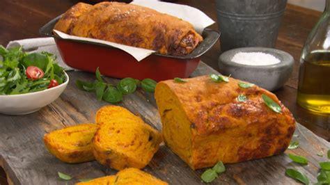 sicilian lasagne bread  pumpkin  basil