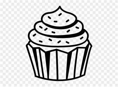 Cupcake Drawing Transparent Getdrawings Clipart