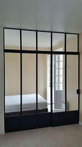 Separation Salon Chambre : verri re pour s parer chambre et salon divinox ~ Zukunftsfamilie.com Idées de Décoration