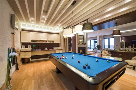 rooms   pool table man caves included
