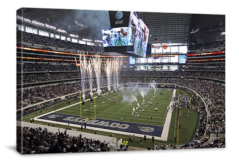 Nfl-stadium Gallery-wrapped Canvases
