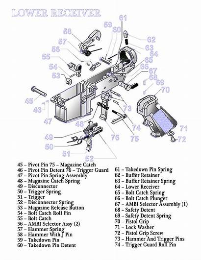 Ar Parts Exploded Diagrams Diagram Lower Receiver
