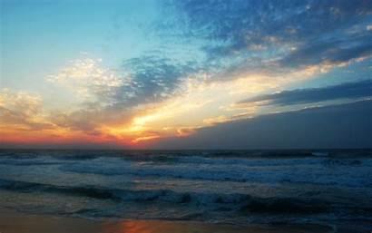 Awakening Soft Hatteras Cape Nature Sunrise Scenery