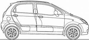 2007 Chevrolet Spark Lt Hatchback Blueprints Free