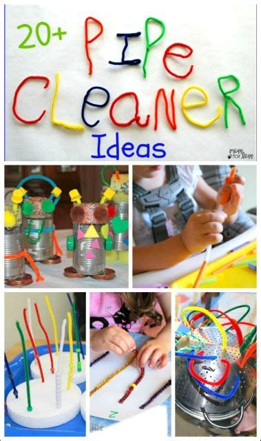 the best pipe cleaner crafts and activities for 303 | bb44105cb4146057b61a4dbcd58d7f79