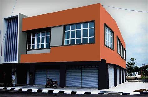 warna cat dinding luar rumah  cerah  dekor rumah