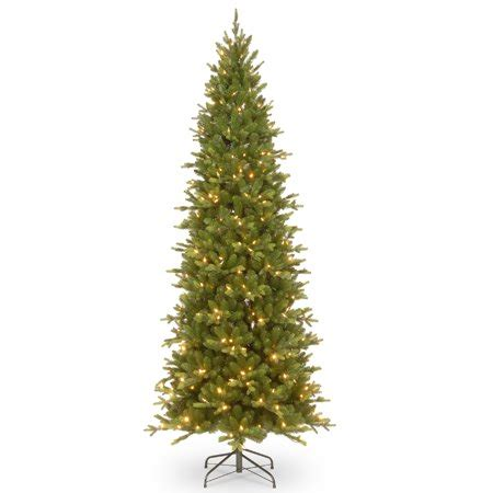 ashland pre lit windham spruce 7 5 pre lit powerconnect ashland spruce slim artificial tree clear lights walmart