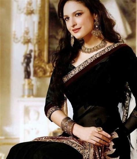 black saree blouse indiangoddess indian black saree loving the sleeve