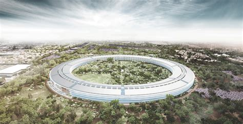 Apples Headquarters New Pictures by New Apple Headquarters Concrete Aspirations