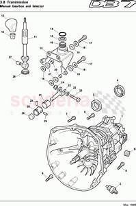 Aston Martin Db7  1997  Manual Gearbox And Selector Parts