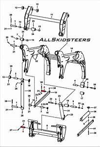 Bobcat Bobtach Cyl Pivot Pin S150 S160 S175 S185 S205 T180 T190 773