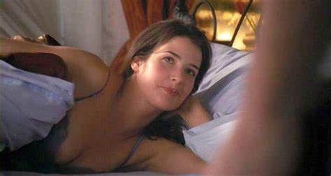 Cobie Smulders Topless Pounding On Scandalplanet Cobie Smulders Cleavage Stretched Scenes From 'The Short Weekend
