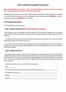 5 paragraph essay sample