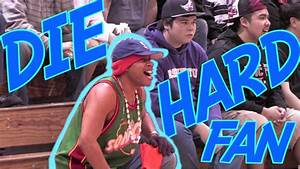Die Hard High School Basketball Fan - YouTube