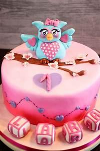 Kuchen 1 Geburtstag Mädchen : eulen torte erdbeerwickltorte an schokobiskuit mit lemoncurd buttercreme sarahs cakes ~ Frokenaadalensverden.com Haus und Dekorationen