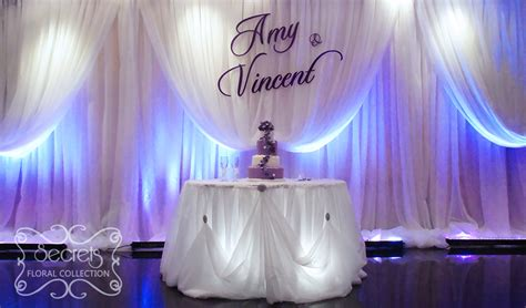 romantic cinderalla pick  style wedding reception