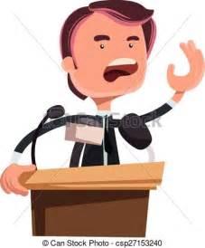 Politicians Giving Speeches