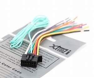 Xtenzi Power Cord Harness Speaker Plug For Pioneer Vh