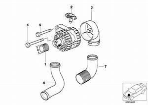 Bmw 328i Hex Bolt  M10x150  Alternator  Valeo  Generator