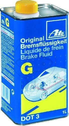 bremsflüssigkeit dot 3 bremsfl 252 ssigkeit ate dot 3 1 liter flasche lincolnparts