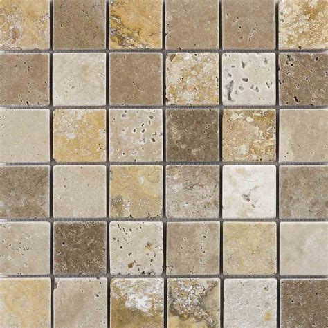 travertine mosaic tile mixed travertine mosaic tumbled wall tiles marshalls