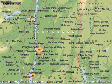 dutchess  map