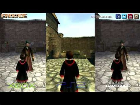 harry potter and the chamber of secrets xbox vs ps2 vs