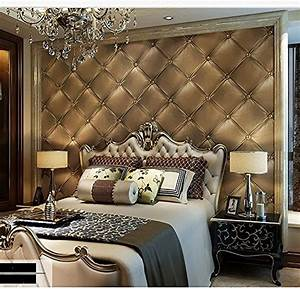 Blooming Wall 3d Faux Leather Backgound Textured Wall ...