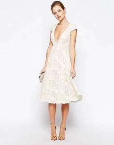Robe Mi Longue Mariage : robe mi longue rose poudr ~ Melissatoandfro.com Idées de Décoration