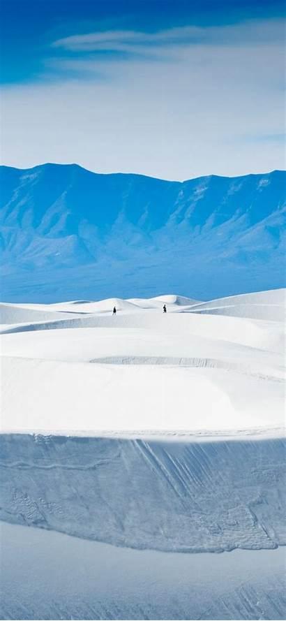 Snow Iphone Sands Wallpapers Walking