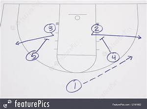 Sport Games  Basketball Play Diagram