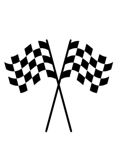malvorlage rennflaggen kostenlose ausmalbilder zum