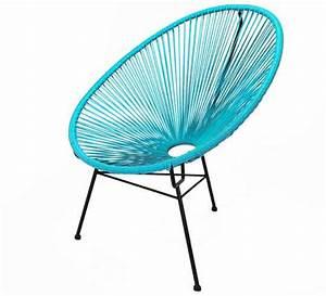 Salon De Jardin Acapulco : fauteuil acapulco bleu turquoise 79 salon d 39 t ~ Teatrodelosmanantiales.com Idées de Décoration