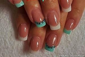 french acrylic nail designs MEMES