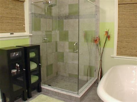 Small Bathroom Ideas : Small Bathroom Shower Design