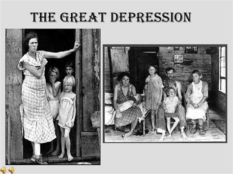 great depression  bad
