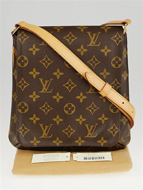 louis vuitton monogram canvas musette salsa bag  long