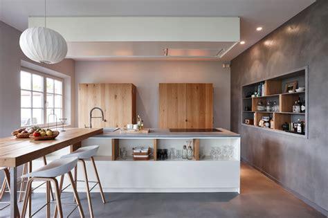 cuisine beton cire bois cuisines en béton ciré contemporain cuisine other