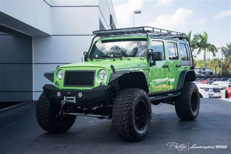 sema jeep for sale 2014 jeep wrangler sema show car for sale